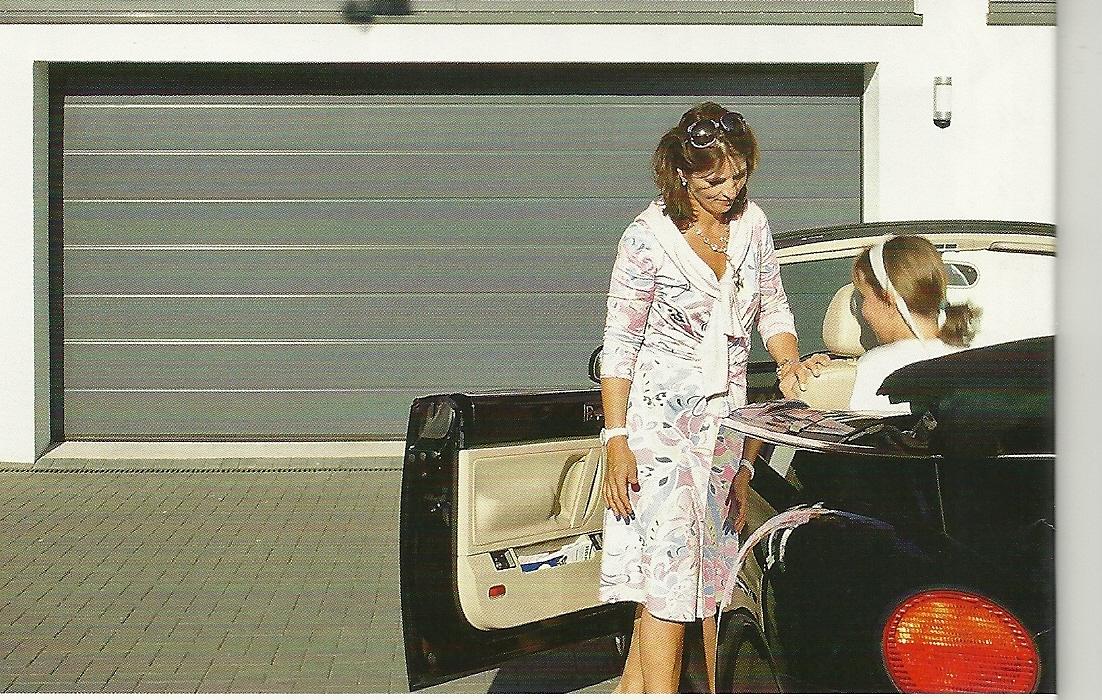sektionaltor h rmann steinau 40 mm d mmung mit antrieb serviceteam az. Black Bedroom Furniture Sets. Home Design Ideas